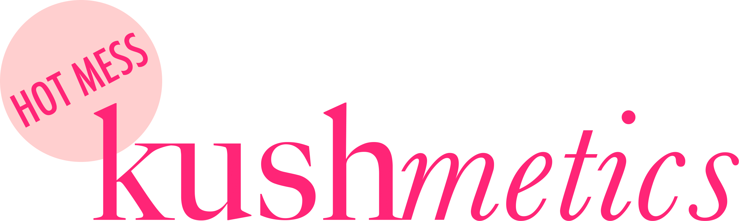 Hot Mess Kushmetics Logo